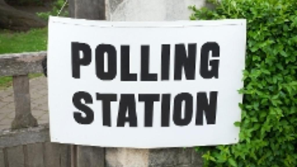 Church polling station