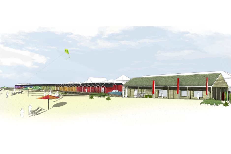 An image relating to Marsh huts project destined for success